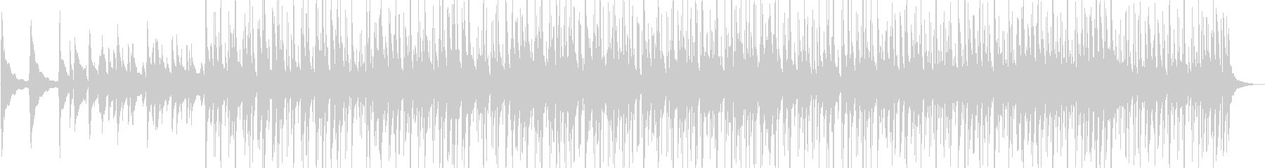 初夏の情景にあうアコギBGMの未再生の波形