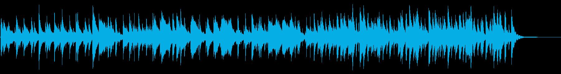 温かみのある静かなビブラフォンのジャズの再生済みの波形