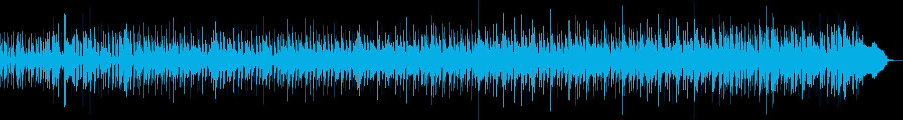 クールなスピード感あるファンクの再生済みの波形
