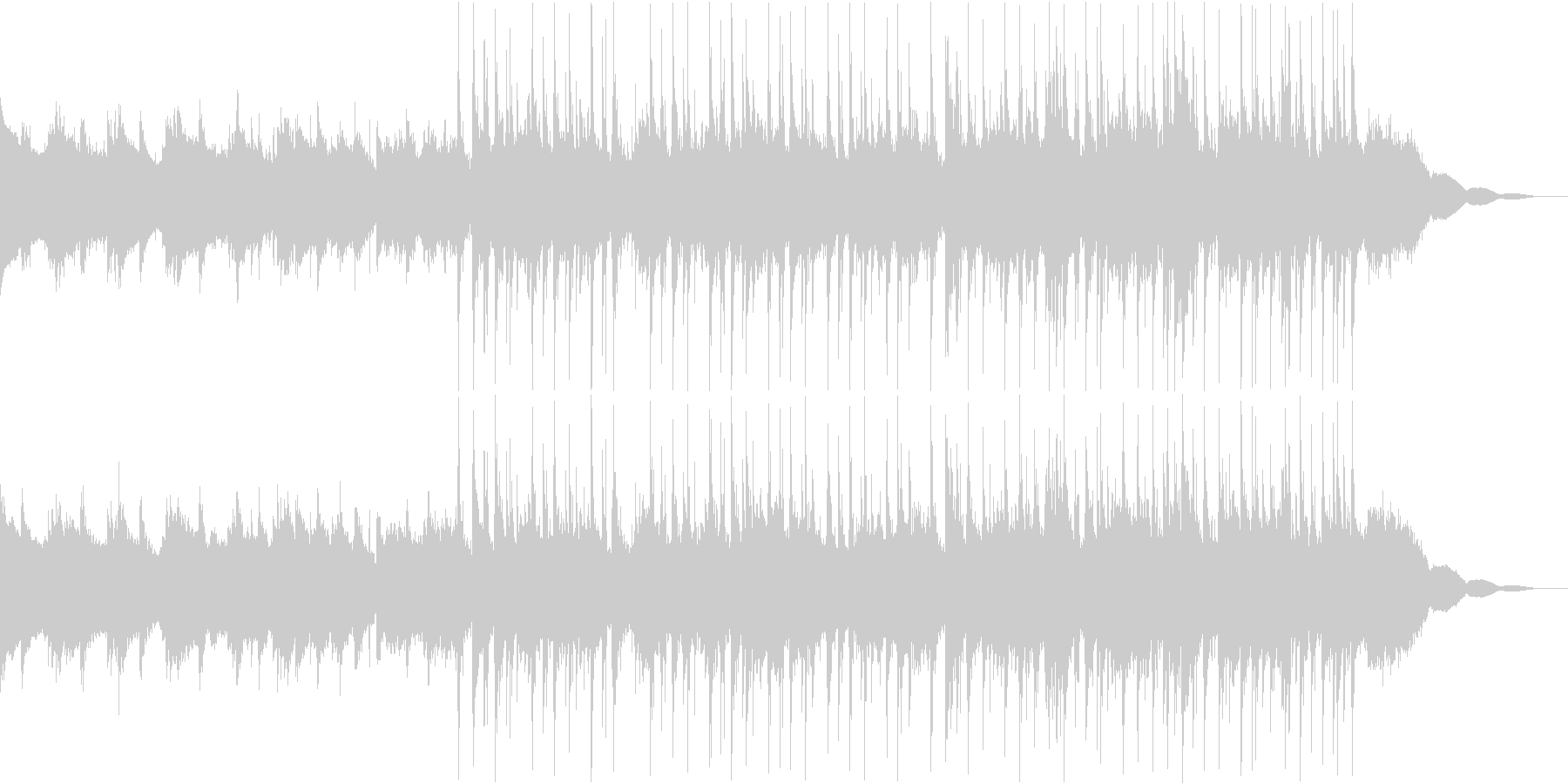 Pf「日差し」和風現代ジャズの未再生の波形