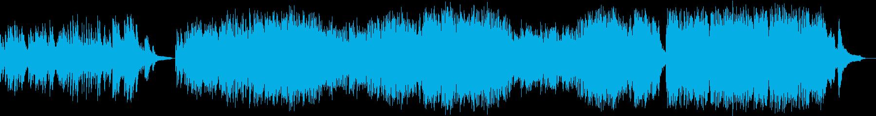 或るアニメ映画風ピアノソロ曲の再生済みの波形