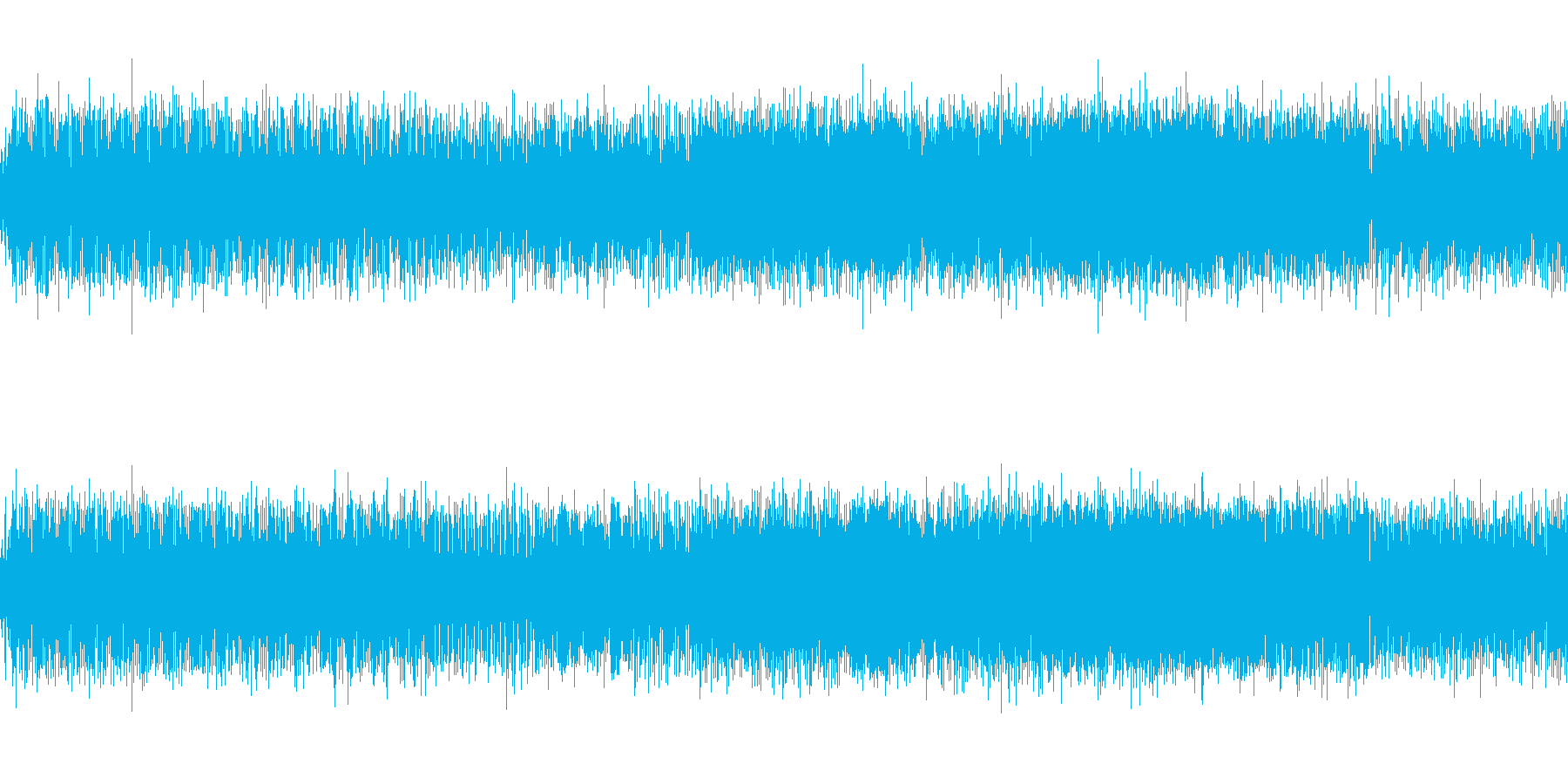 重めの雰囲気のミドルテンポエレクトロの再生済みの波形