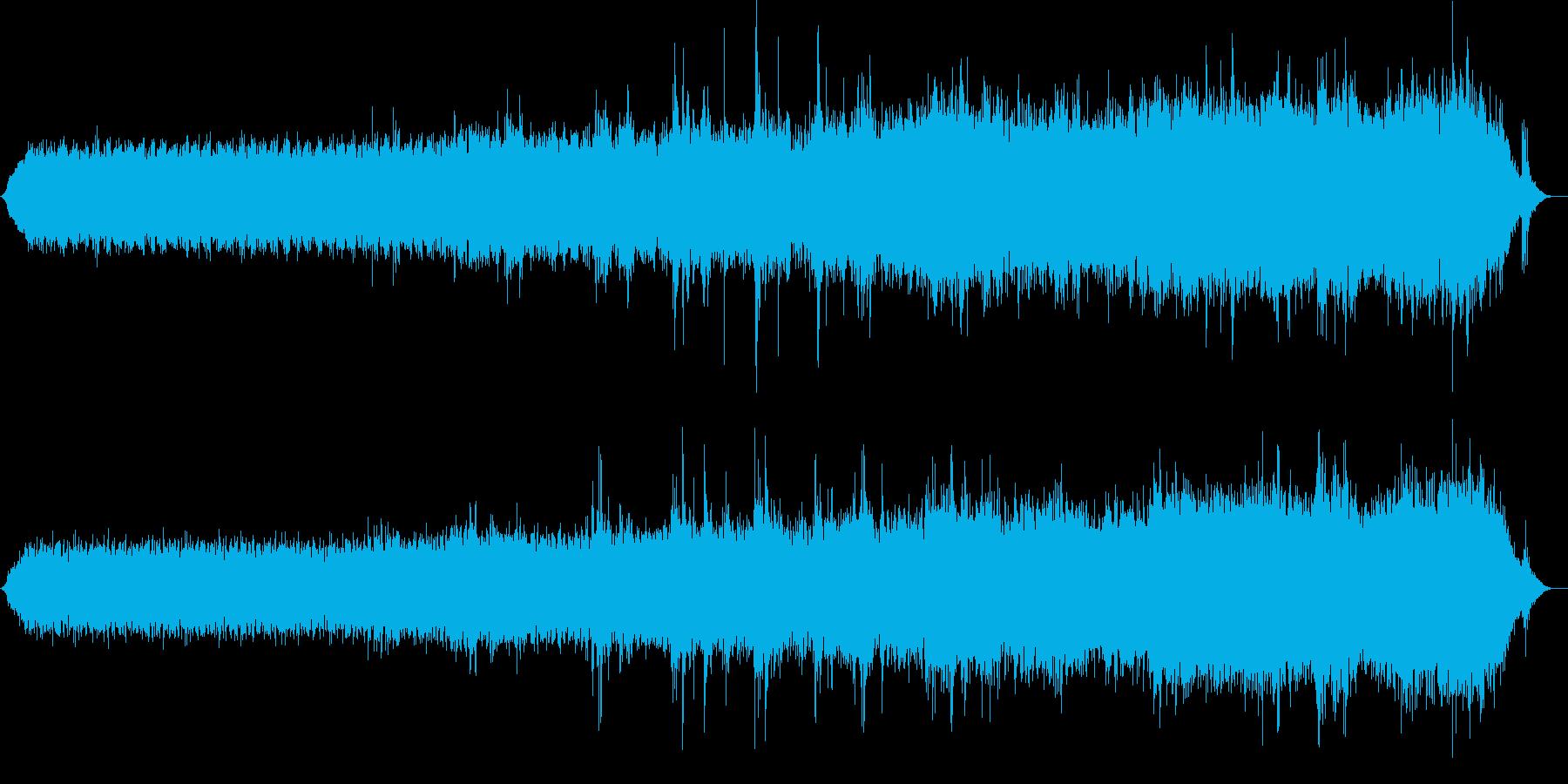 不気味かつファニーなミニマルテクノの再生済みの波形