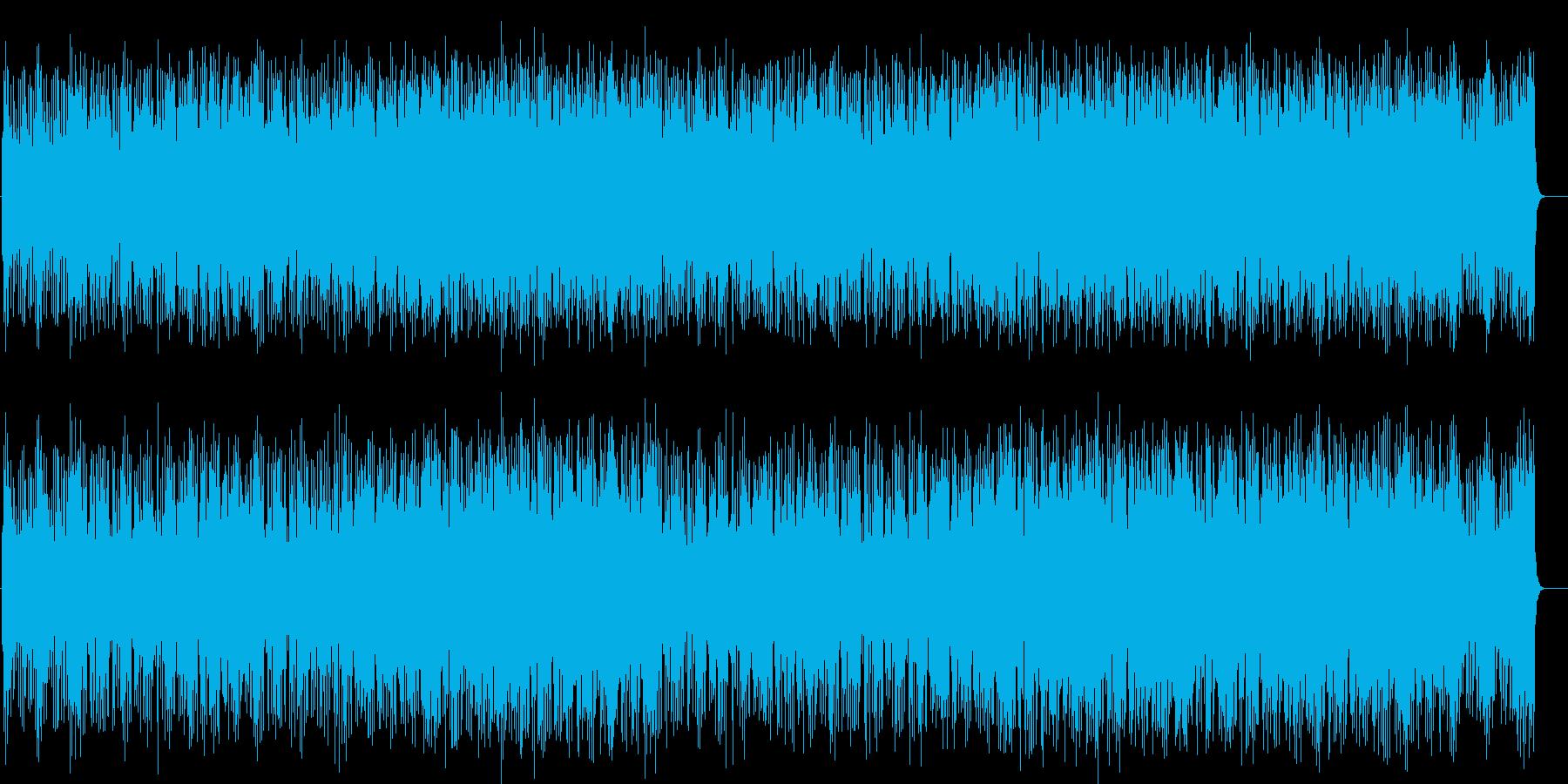 爽快なポップフュージョン(フルサイズ)の再生済みの波形