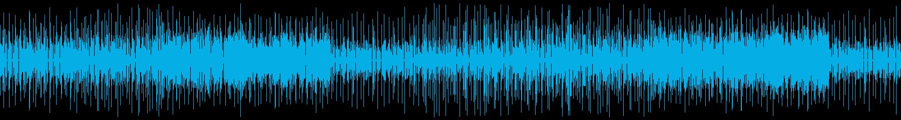 ゲームや配信向け軽快なかわいい日常系の再生済みの波形