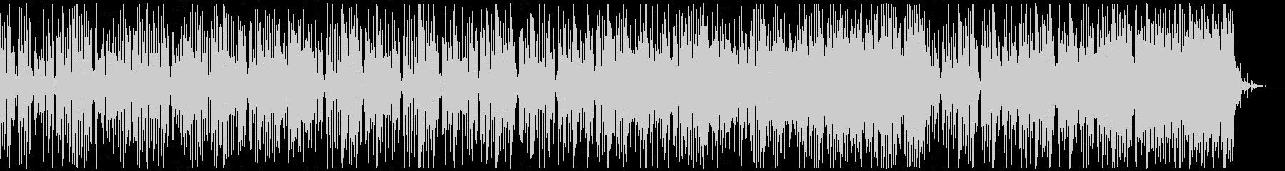 楽しく、コミカルなBGM (ドラム無し)の未再生の波形