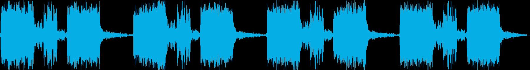 サイレン siren 警報 アラート 3の再生済みの波形