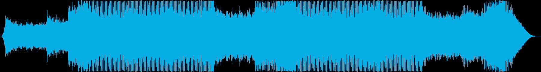トランス マイナー 疾走感(メロ抜き)の再生済みの波形