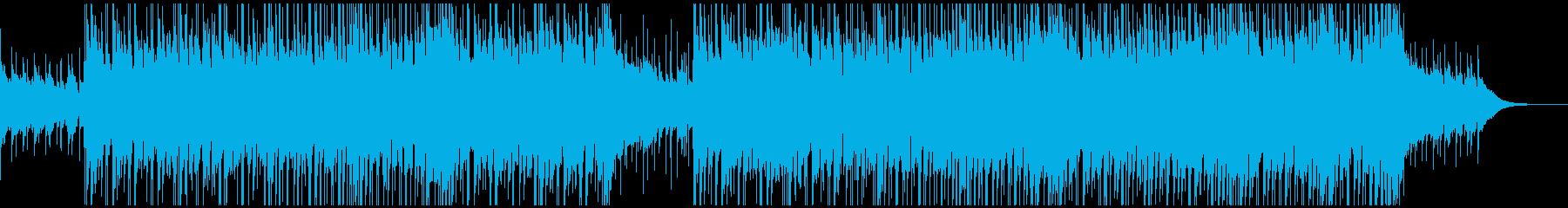 アコギ(生演奏)&バンドの爽やかBGMの再生済みの波形