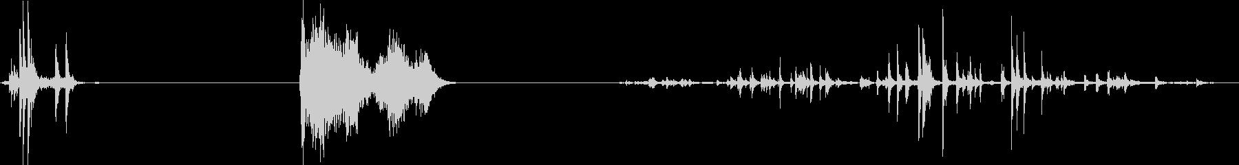 錫の音、3つのバージョン; DIG...の未再生の波形