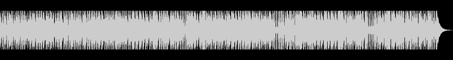 陽気なウクレレの未再生の波形