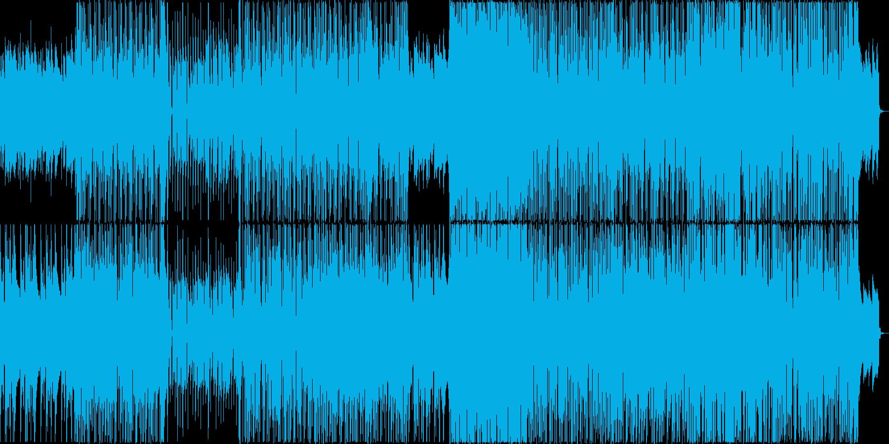 切ない雰囲気のレゲエバラードの再生済みの波形