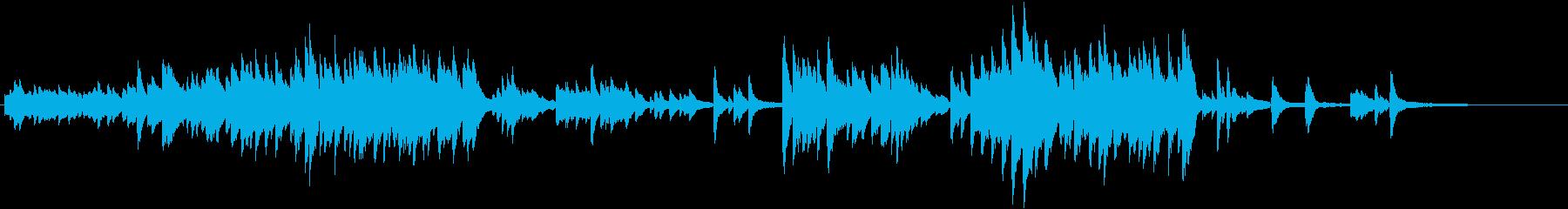 映像、CM等に合う儚く感動的なソロピアノの再生済みの波形