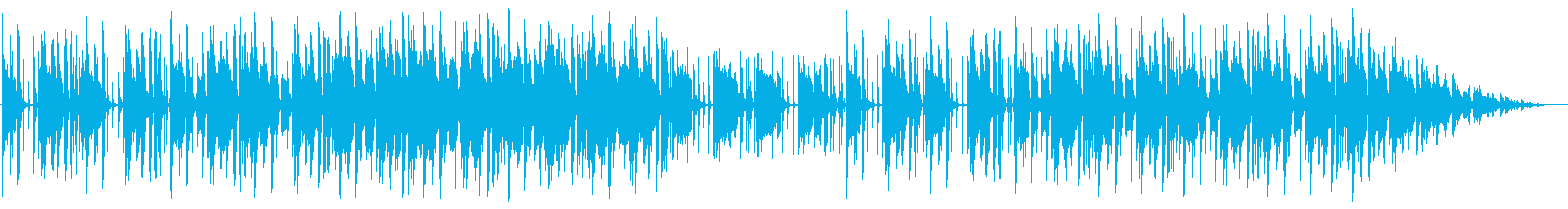 リラックス/R&B_No527の再生済みの波形