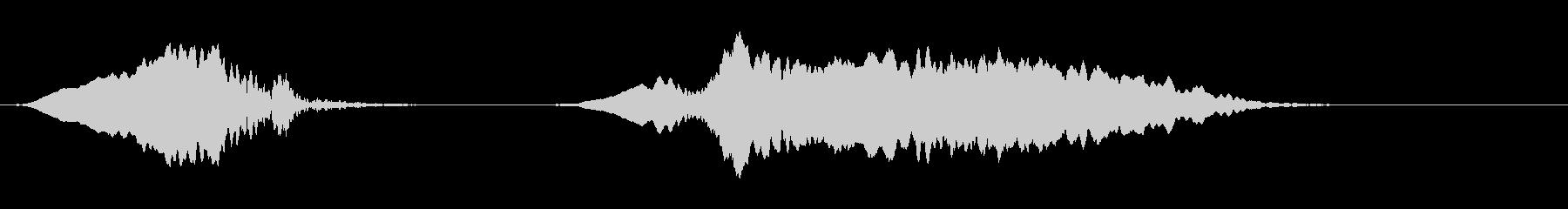 音楽効果;男性のステレオタイプのオ...の未再生の波形