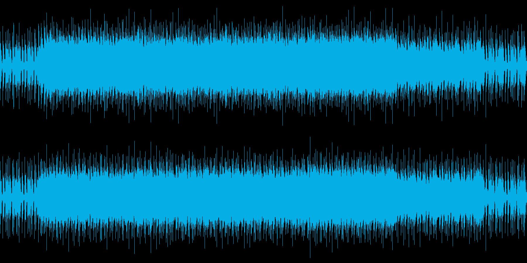 ループ 透明感ある爽やかなポップロックの再生済みの波形
