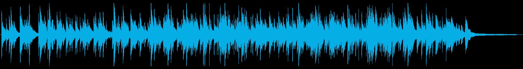 優しい 少し切ないヒーリングの再生済みの波形