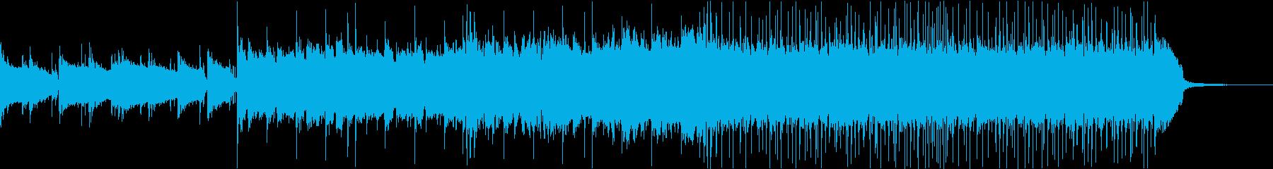 戦国時代・三味線・尺八のヘビー和風ロッの再生済みの波形