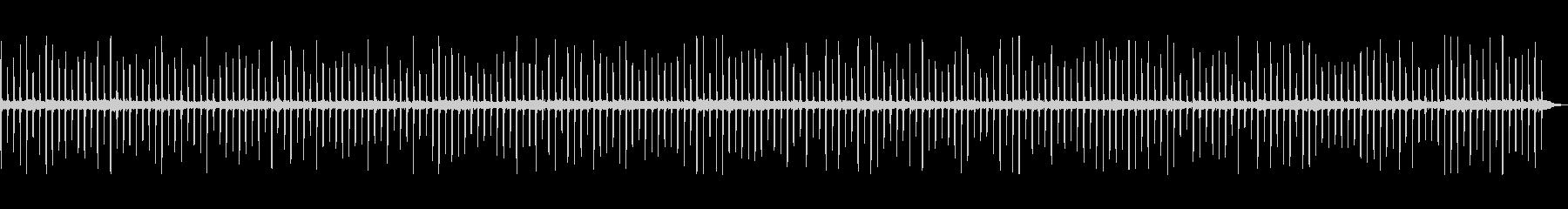 カチカチ、チクチク、チクタクの未再生の波形