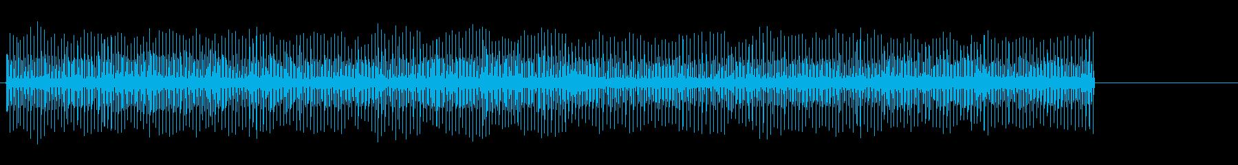 迅速なクリックで卵タイマー。の再生済みの波形