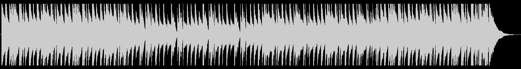 爽やかでポップなピアノの未再生の波形