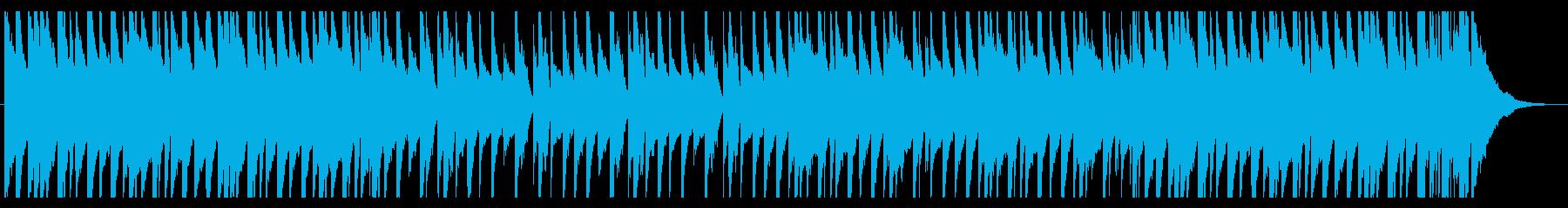 爽やかでポップなピアノの再生済みの波形