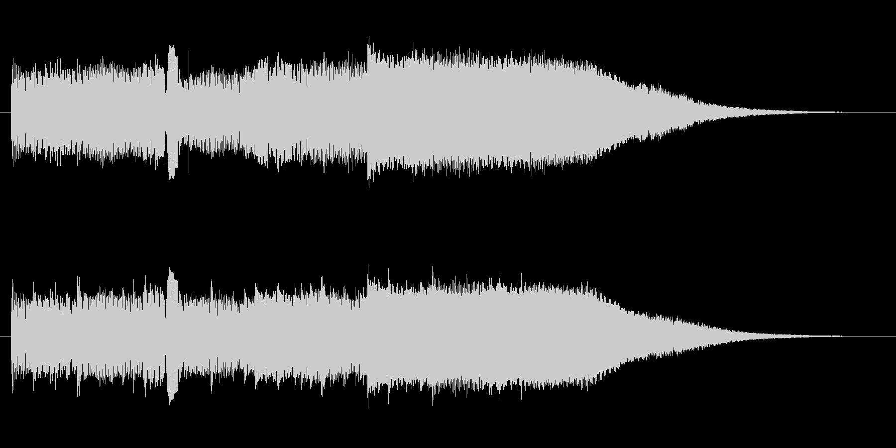【メロ抜き】エレガントで高級感あるロゴの未再生の波形