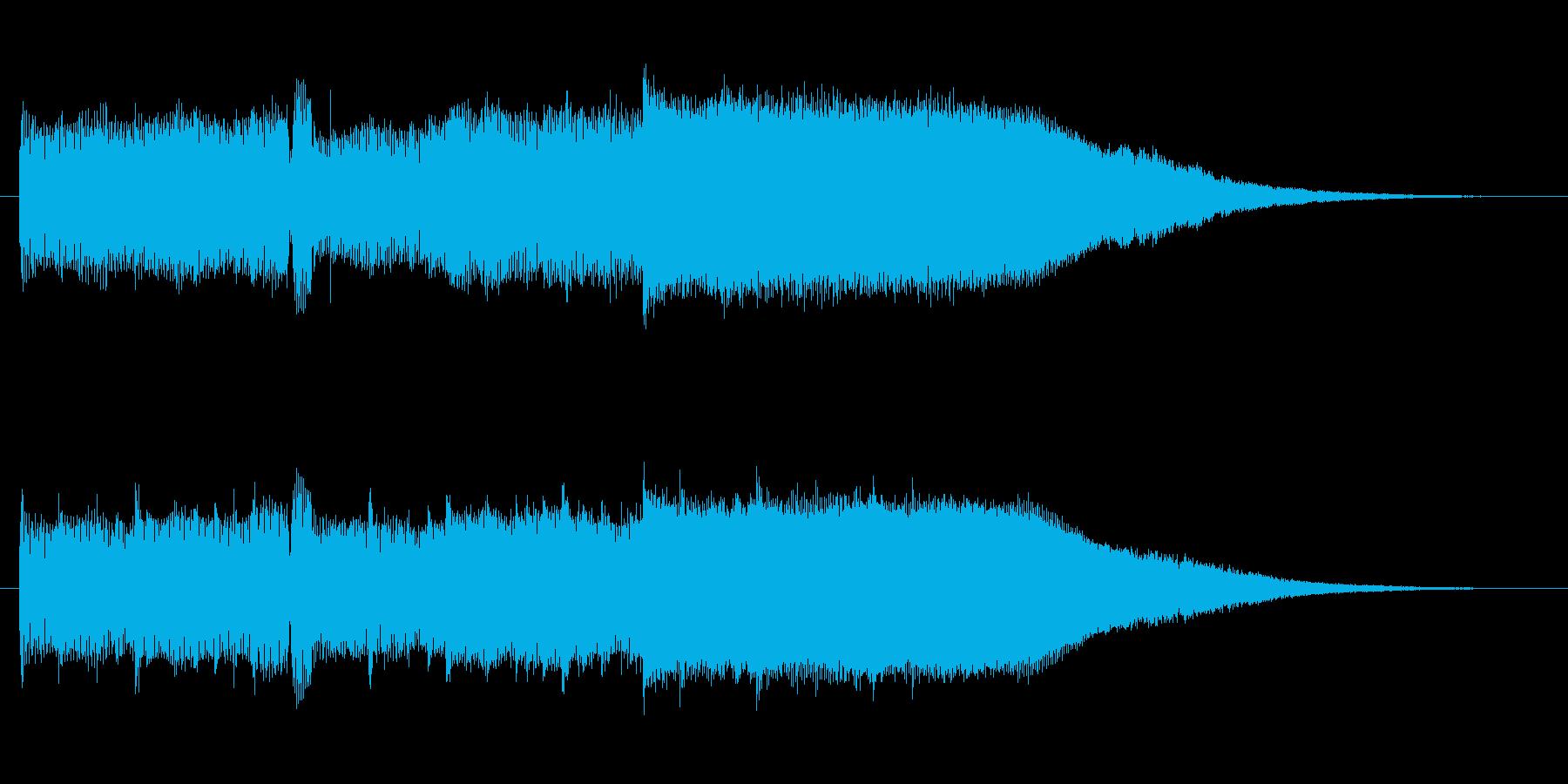 【メロ抜き】エレガントで高級感あるロゴの再生済みの波形