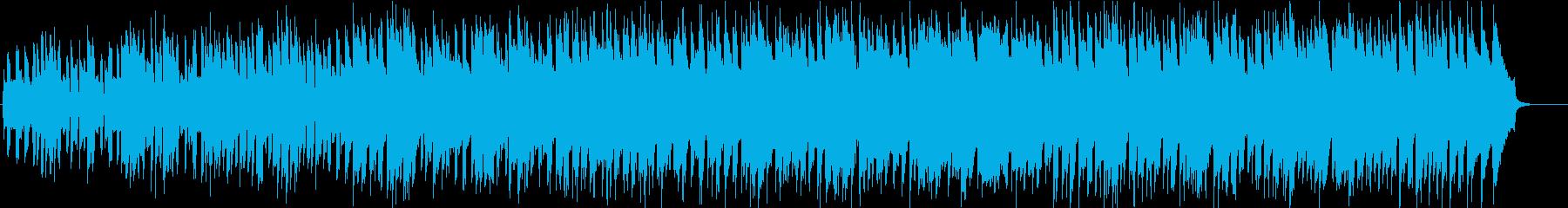 情熱的な楽観的なノスタルジックなピアノの再生済みの波形