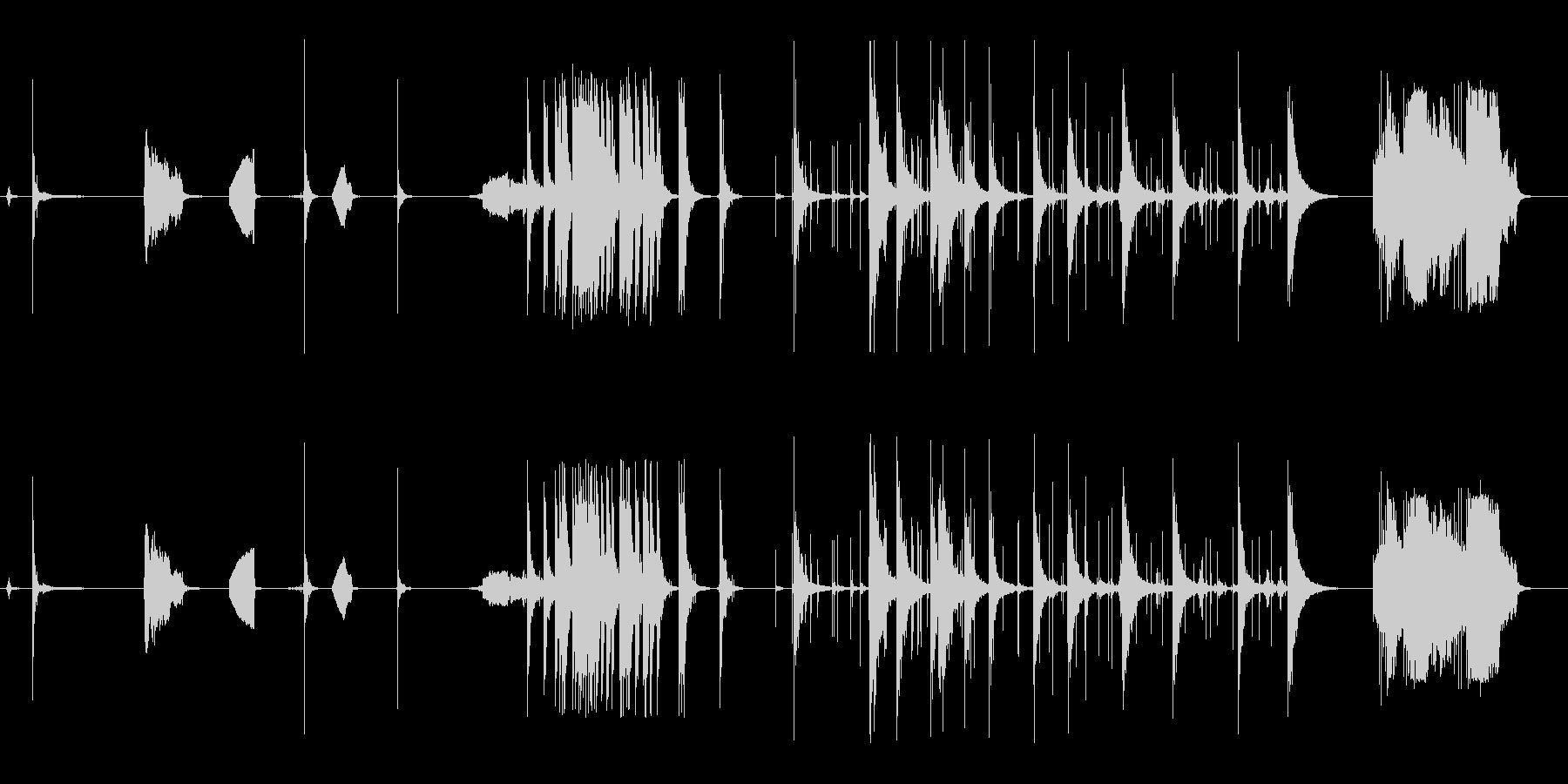 花火、ロケット、3つのシングル、3...の未再生の波形
