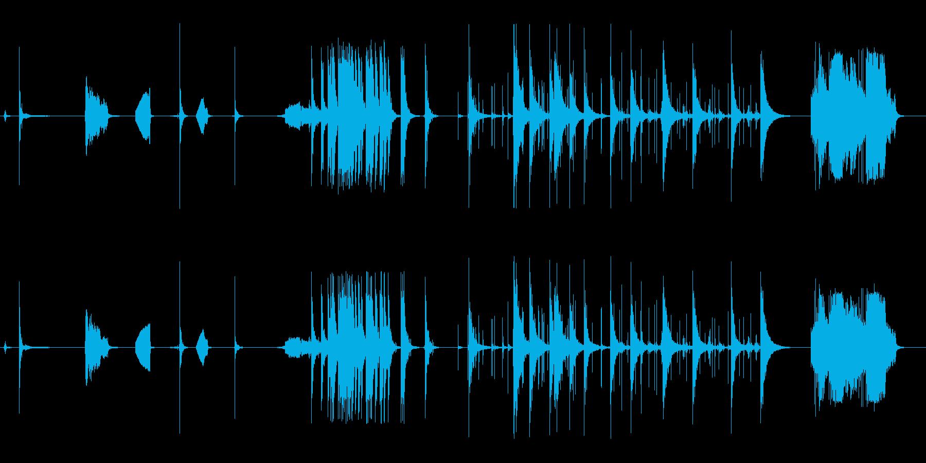花火、ロケット、3つのシングル、3...の再生済みの波形