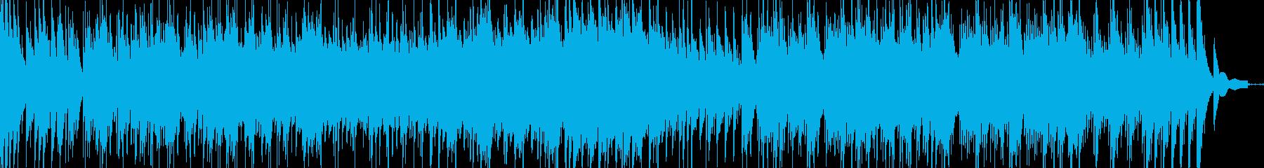 和風琴第九ベートーベンの琴曲の再生済みの波形