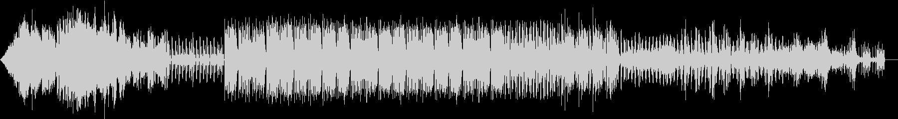 ラジオBGM ロケット・ボイスありの未再生の波形