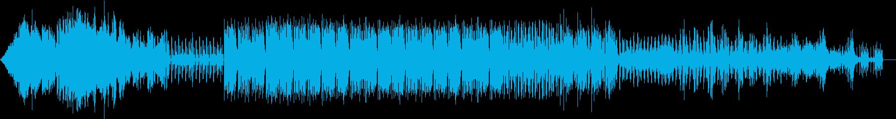 ラジオBGM ロケット・ボイスありの再生済みの波形