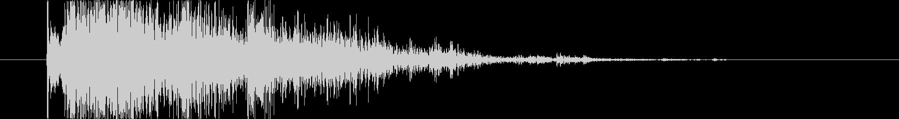 ブレーク ウッドミディアム03の未再生の波形