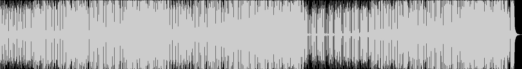 ファンク、ヒップホップの未再生の波形
