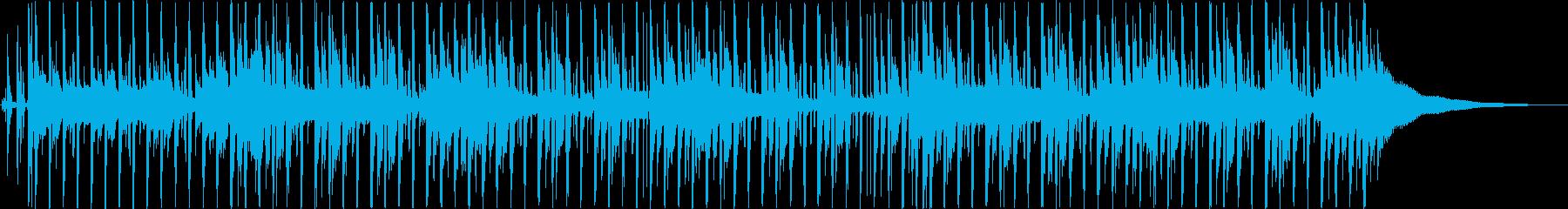 浮遊感のあるオトナポップの再生済みの波形