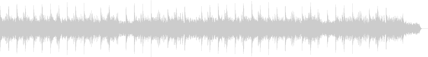 ピアノ&シンセパッドのバラードBGMの未再生の波形