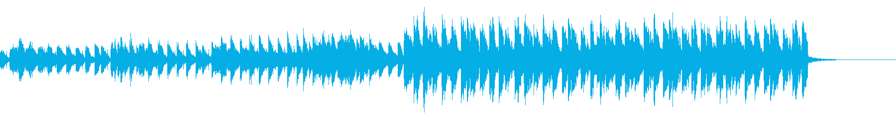 ほのぼのした変則ビートの再生済みの波形