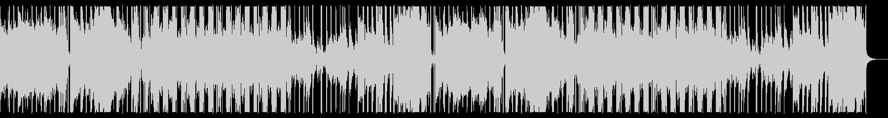 ダーク、スローでエレクトロなハロウィン曲の未再生の波形