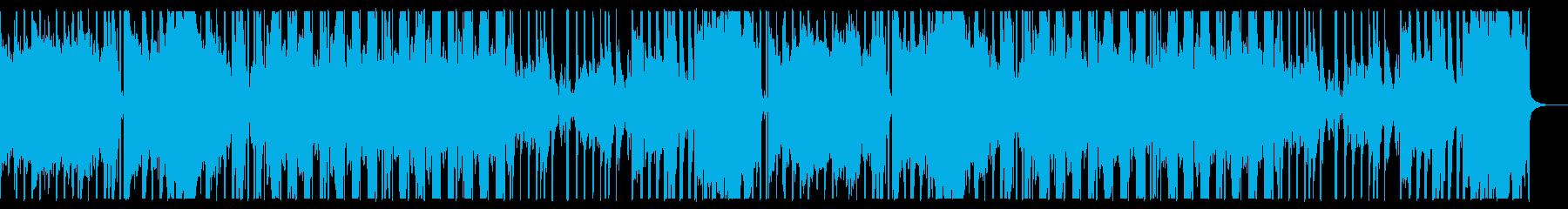 ダーク、スローでエレクトロなハロウィン曲の再生済みの波形