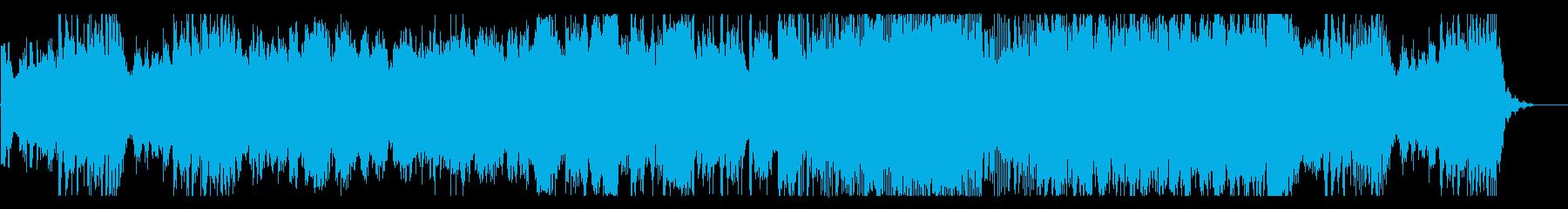 シネマティック風なオーケストラの再生済みの波形