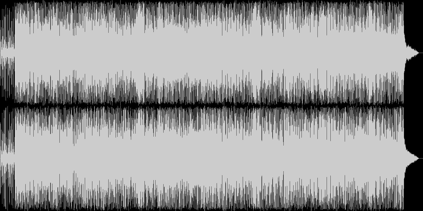 軽快なバンジョーが特徴的なカントリーの未再生の波形
