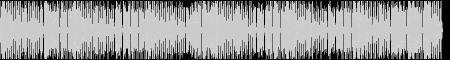 明るく賑やかなアフロビート レゲエ の未再生の波形