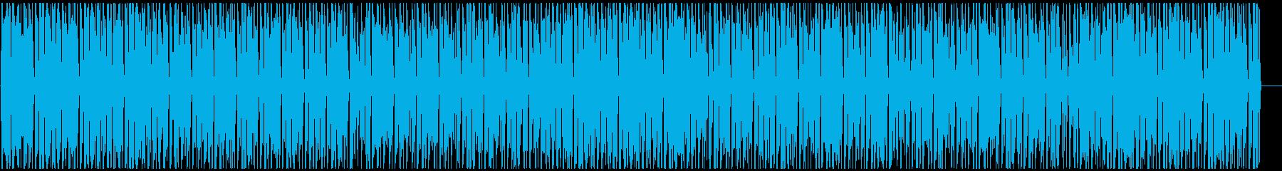 明るく賑やかなアフロビート レゲエ の再生済みの波形