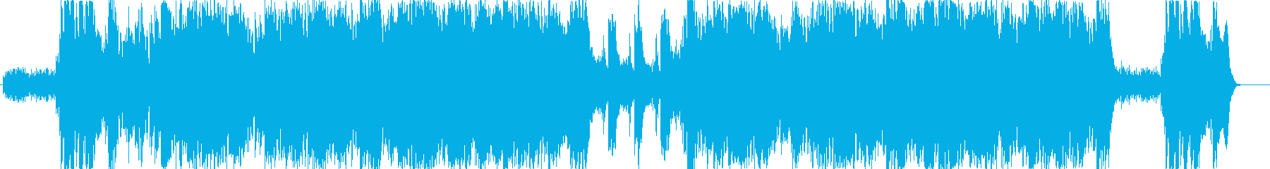 RPGのダンジョンBGMの再生済みの波形