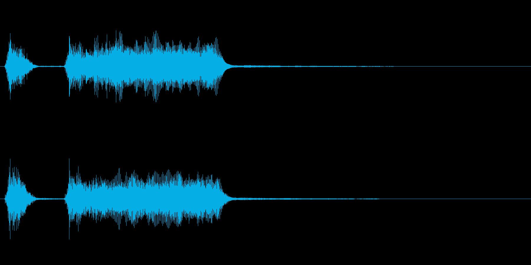 玩具系ファンファーレ-03の再生済みの波形