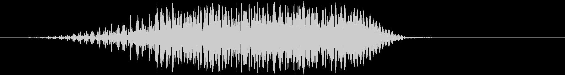 エレクトロパワーヒューシュの未再生の波形