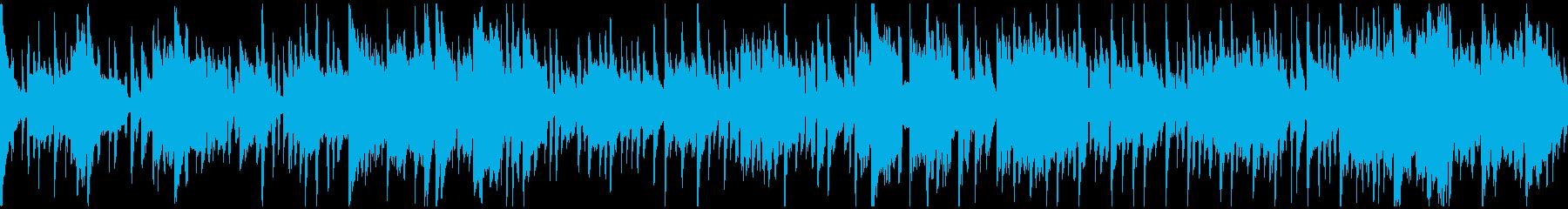 気だるいリコーダー脱力ブルース※ループ版の再生済みの波形