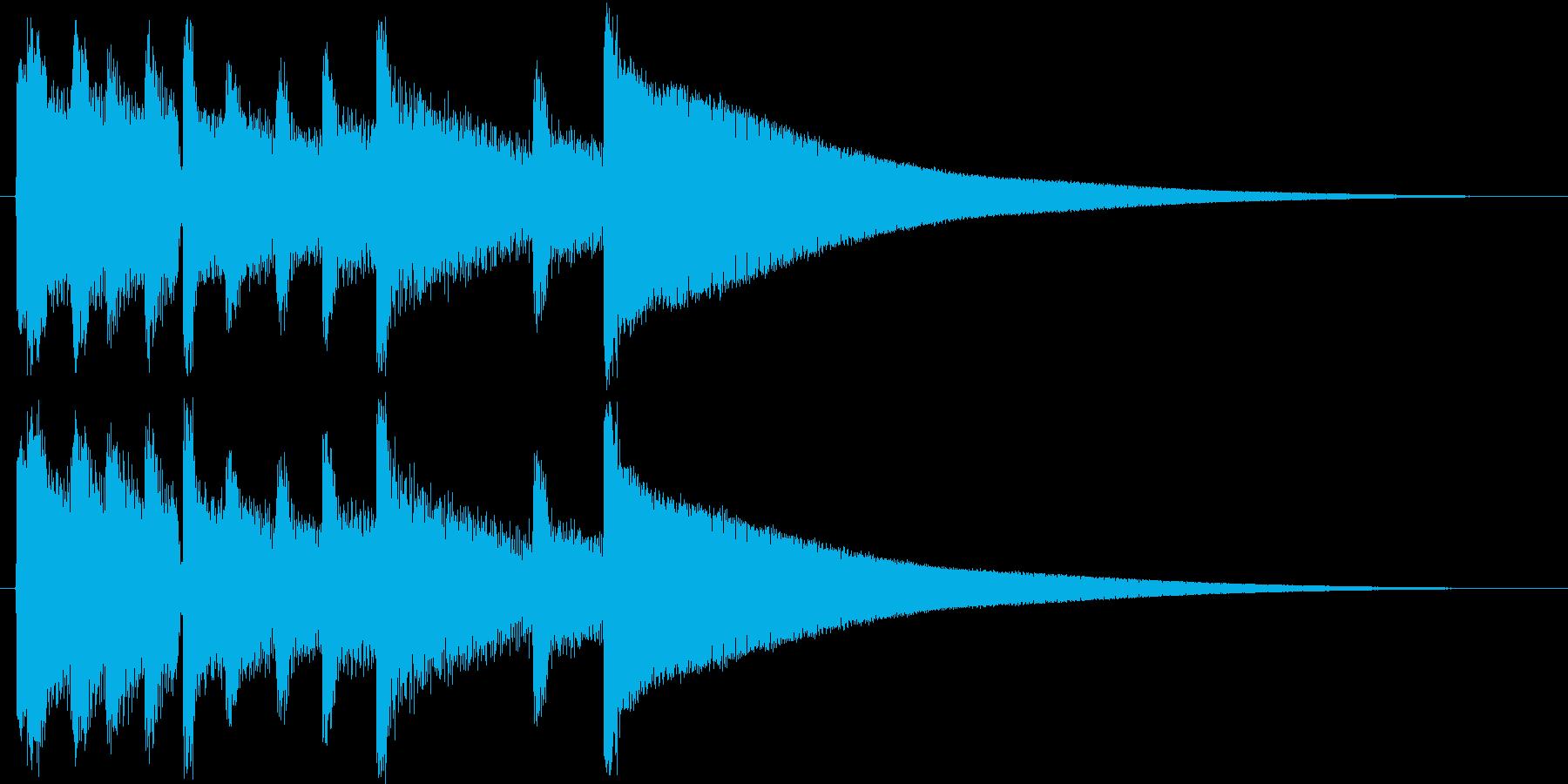 ジングル用途に制作しました。使用楽器は…の再生済みの波形